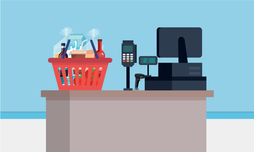 POS systems that interact with e-commerce