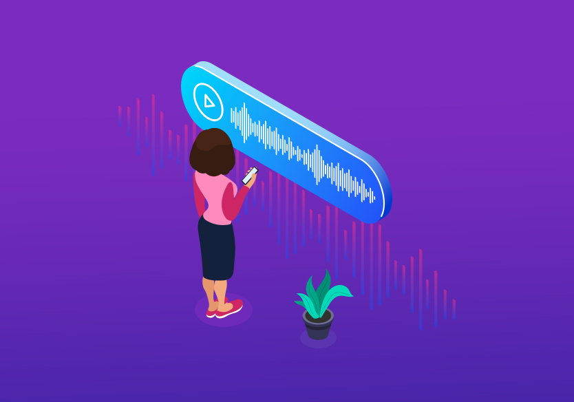 What are users looking for while using voice search