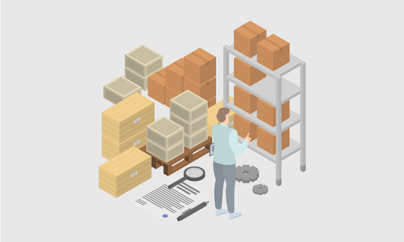 Managing the inventory