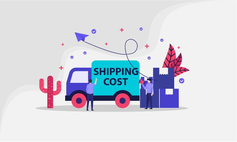 Show the shipping prices and terms of conditions