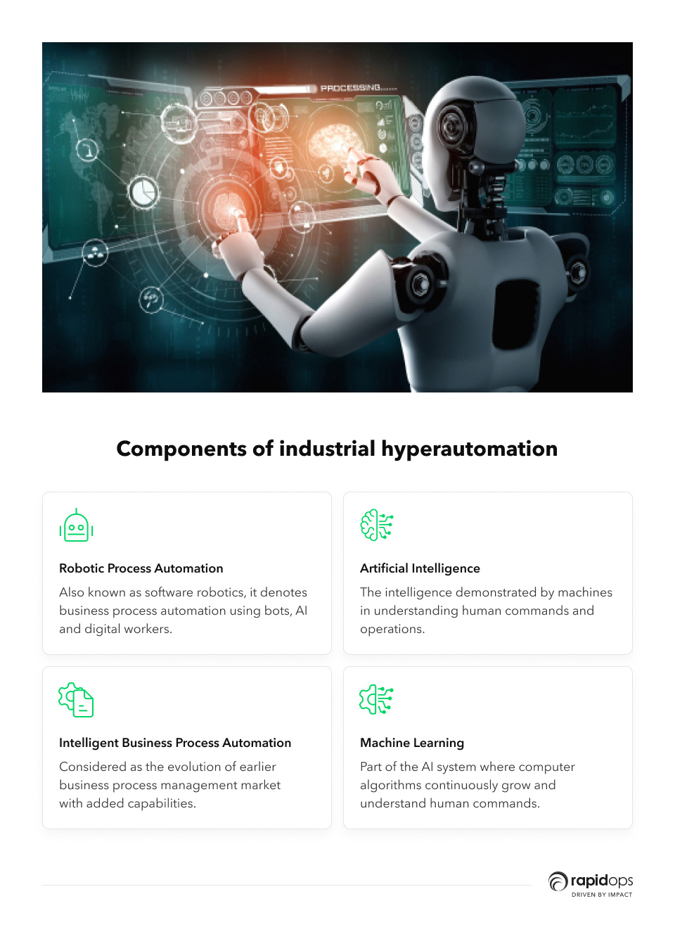 Components of industrial hyper automation